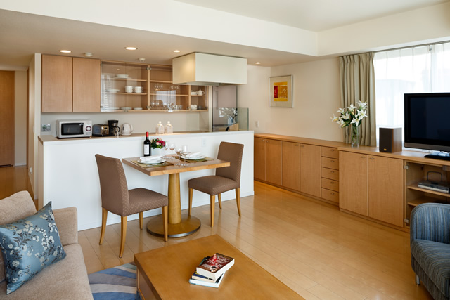 Oakwood Apartments Shirokane - type:1bed room