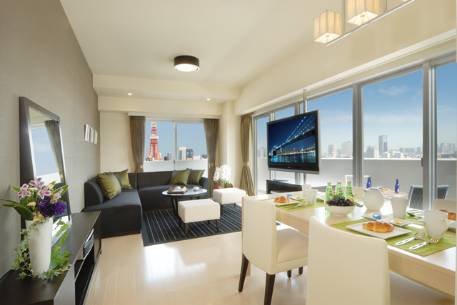 ROPPONGI DUPLEX TOWER - TYPE:2bedroom Executive Suite