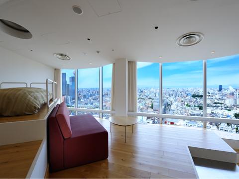 Studio Apartment Tokyo hundred stay tokyo shinjuku premier floor studio premier cape 1