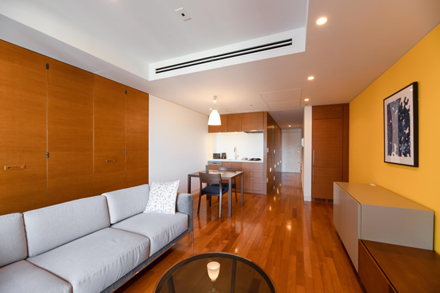 Roppongi Hills Residence D - TYPE:1BR:Design Apartments(Type B)