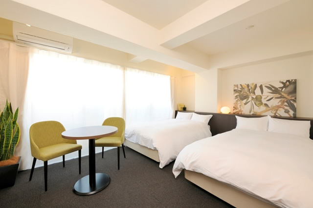 Hotel & Residence Roppongi (H&R) - TYPE:Delux Twin