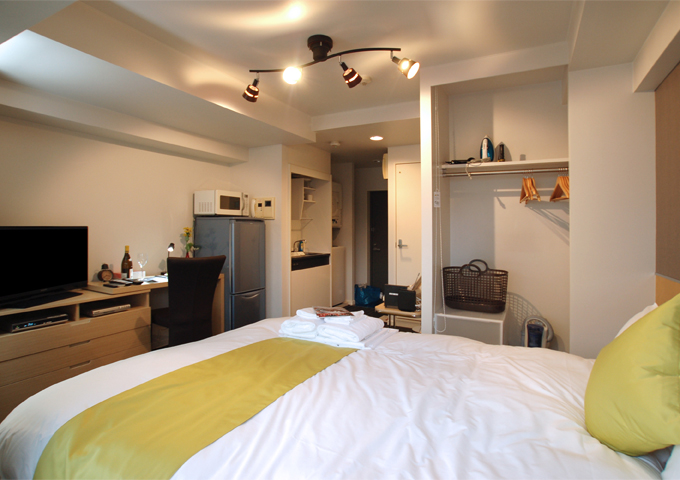 Studio Apartment Tokyo serviced & furnished apartments in ginza/nihonbashi area 1~10