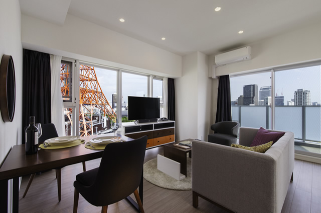 Oakwood Apartments Azabudai - TYPE:Two Bedroom Deluxe