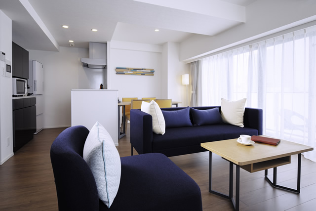 Oakwood Apartments Nishi-Shinjuku - TYPE:One-Bedroom